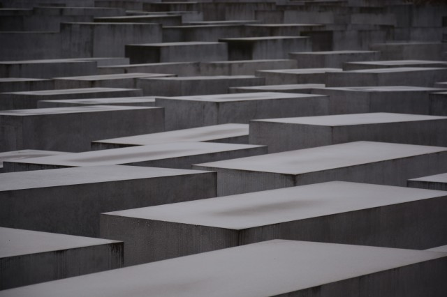 Holocaust Memorial, on the surface.