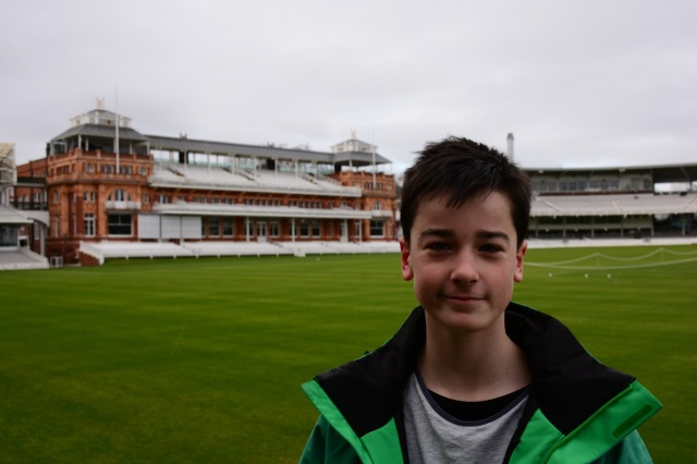 Will at Lord's.