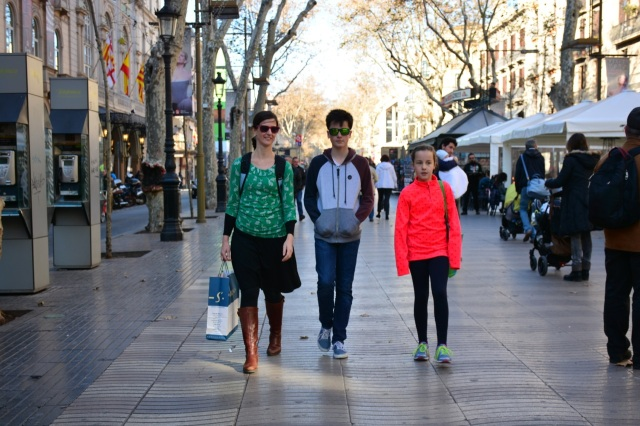 Rambling Down the Ramblas