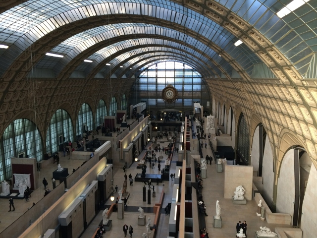 A grand central Musee D'Orsay
