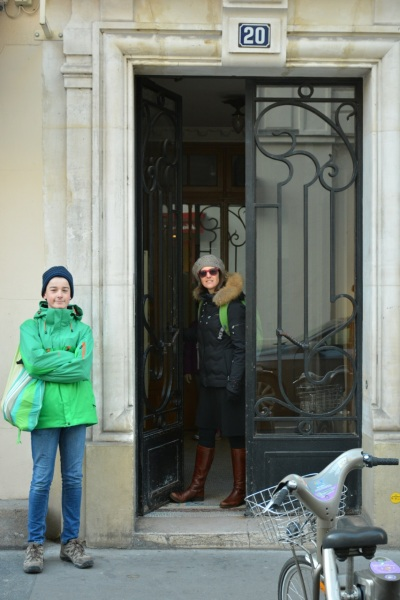 Our front door