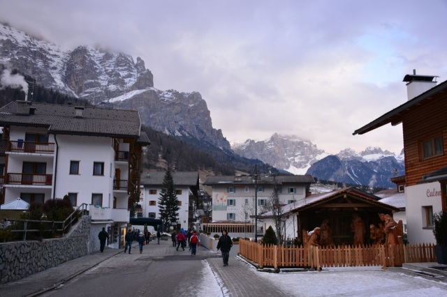 The streets of San Cassiano