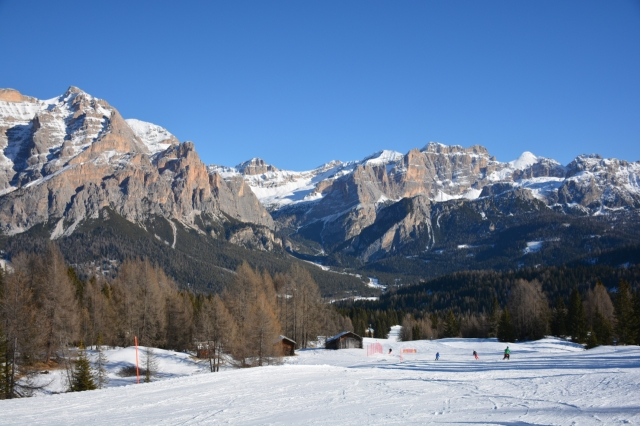 The run home to San Cassiano